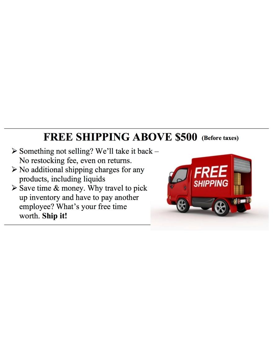 Free shipping slider